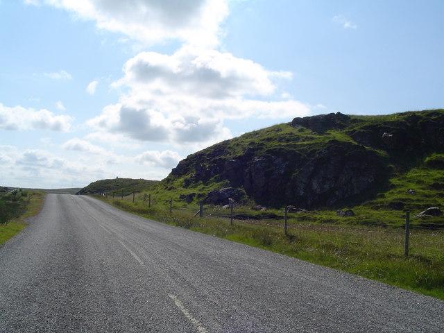 Rock Outcrop by A858