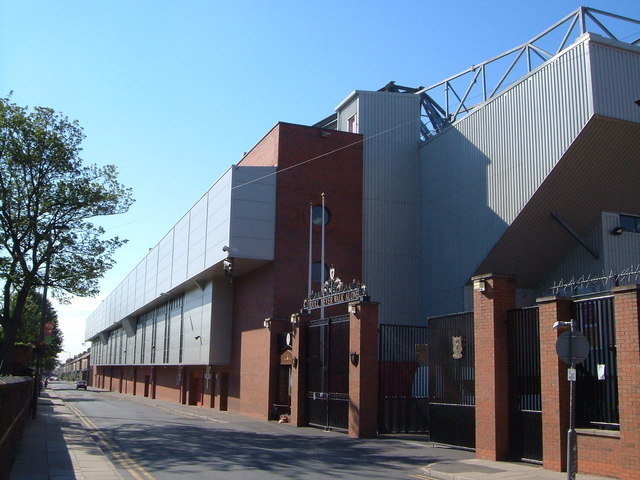 Anfield - Shankly Gates and Hillsborough memorial