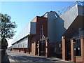 SJ3693 : Anfield - Shankly Gates and Hillsborough memorial by Derek Harper