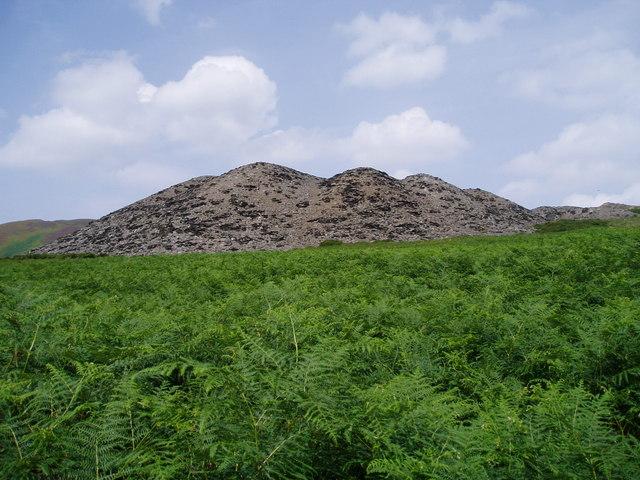 Berwyn Quarry waste