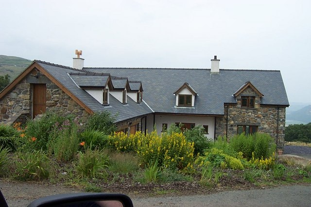 Modern House near Tyddyn Wilym