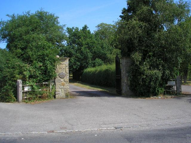 Entrance to Puttenden Manor, Surrey