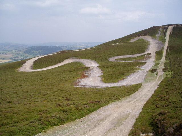 Racing track, Llantysilio Mountain