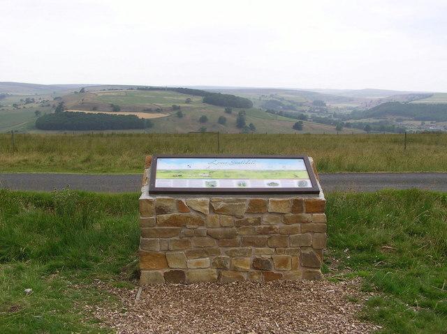 Information board : Downholme Moor