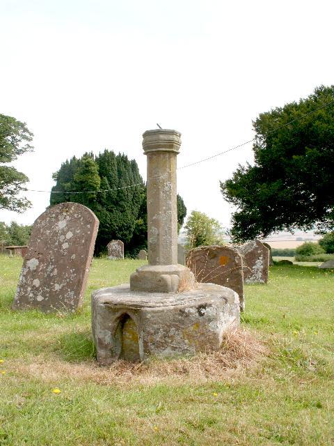 Base of Cross, St Weonards
