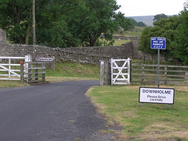Cattle Grid : Downholme