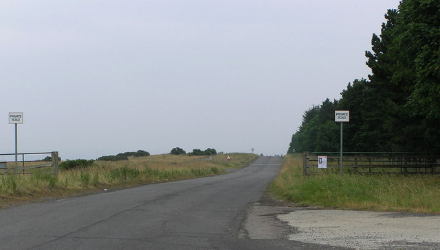 Military Road : Hipswell Moor