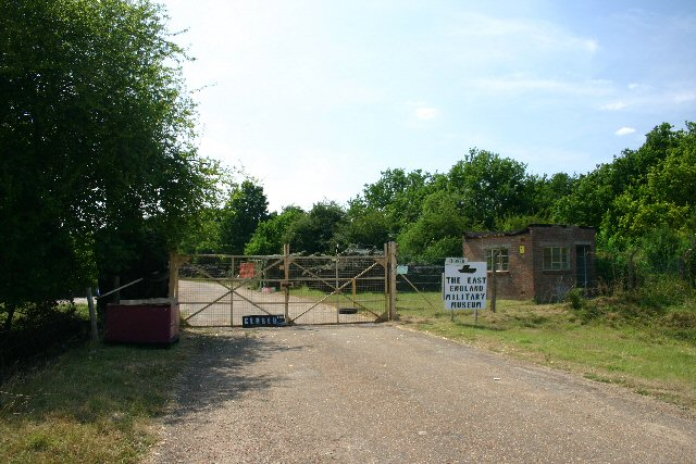 East England Military Museum entrance