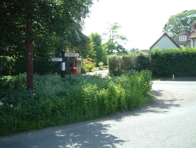 Road Junction, near Whitehouse Farm