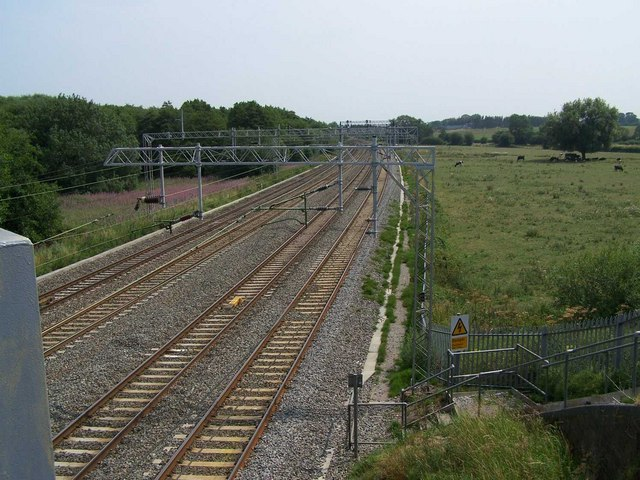 Mainline Near Millmeece