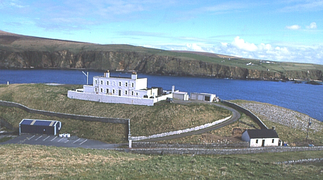 Lighthouse Shore Station, Burra Firth