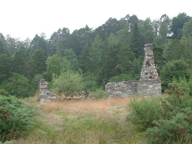 ruin at Stronachroe