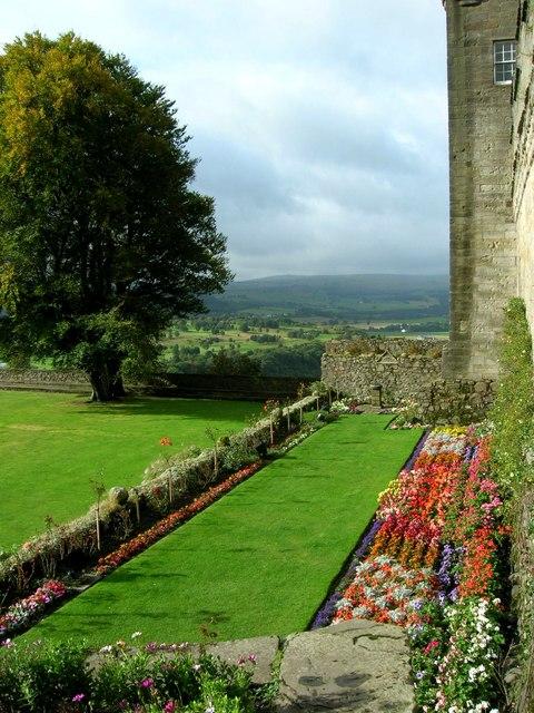 Stirling Castle Forework Gardens