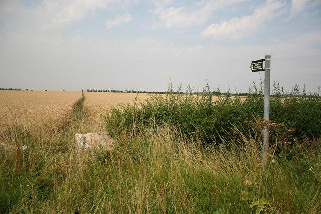 Footpath to Low Farm