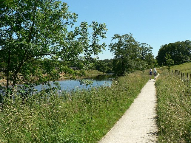 Path by the River Wharfe