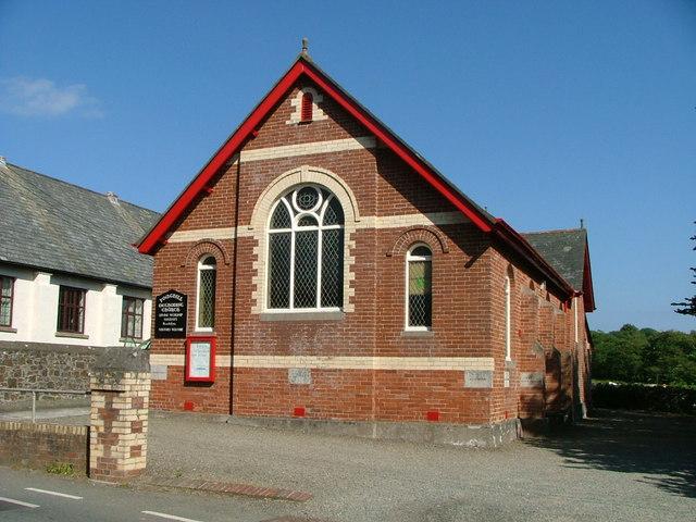 Poughill Methodist Church