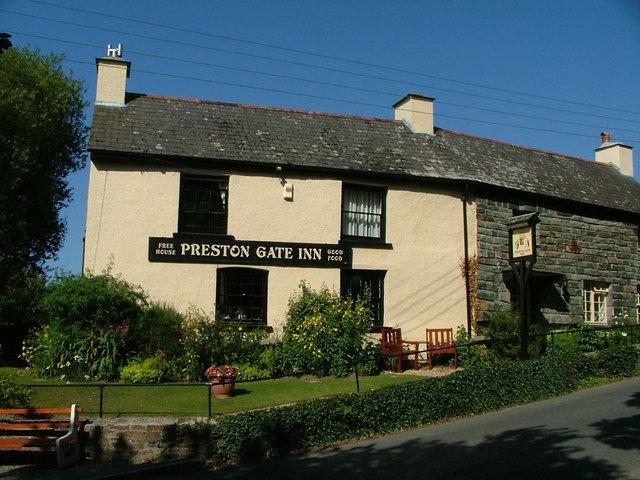 Preston Gate Inn, Poughill