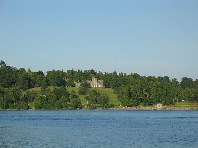 Balloch Castle and  park