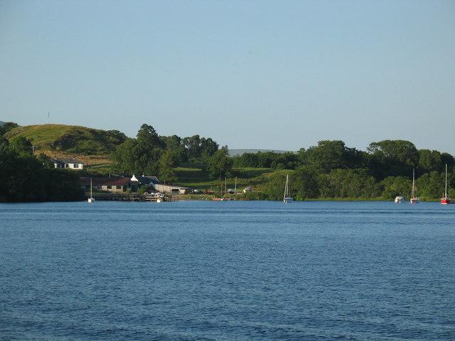 Inchmurrin Island southwestern end pier.