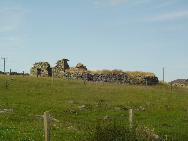 Ruin in Brue