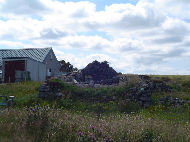 Ruined Croft House