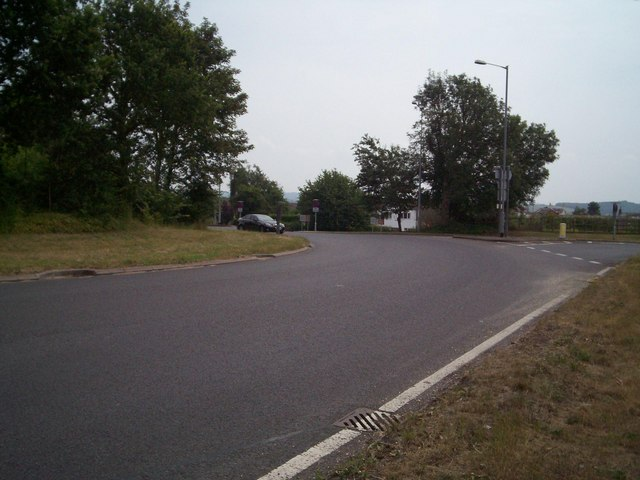 The roundabout near Raglan