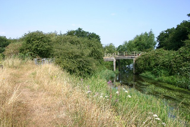 Temple Bridge and River Lark