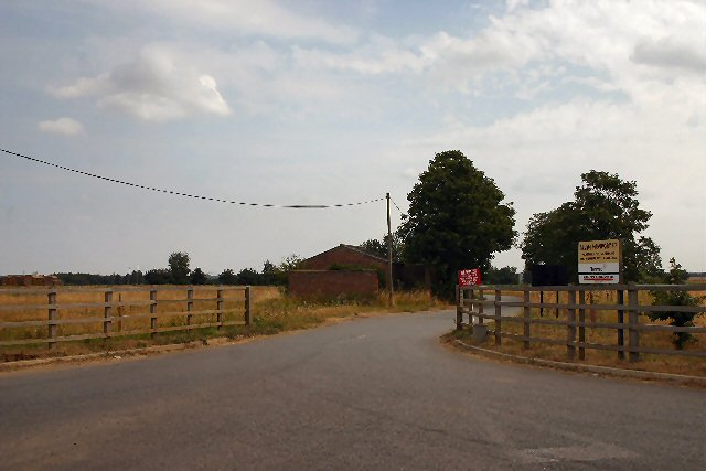 Entrance to Marstons Pit