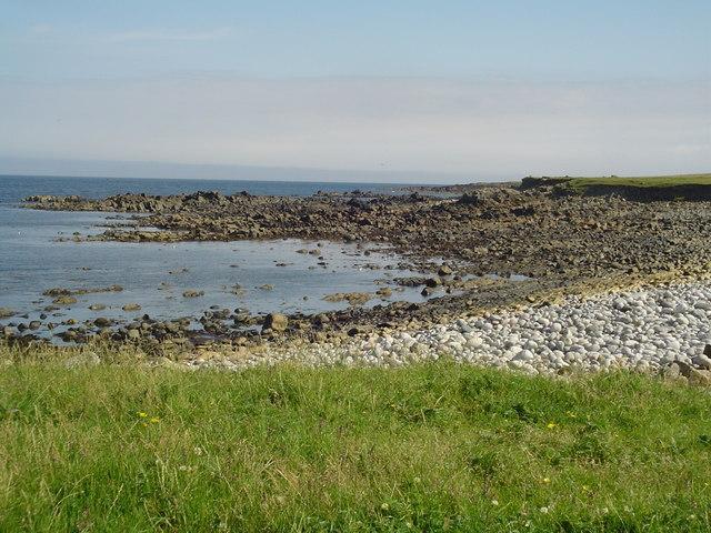 Siorrabhaig Shore