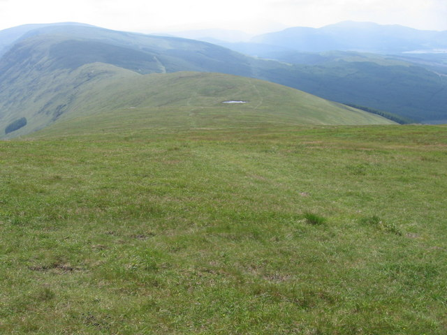 South ridge of Corserine