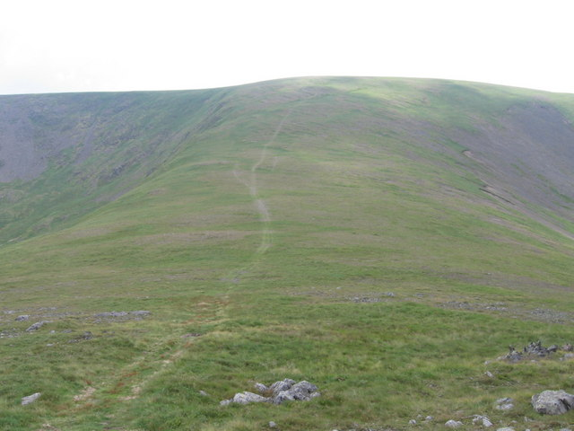 The South ridge of Carlin's Cairn to Corserine