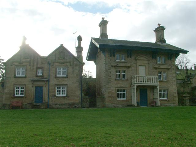 Houses in Edensor Village