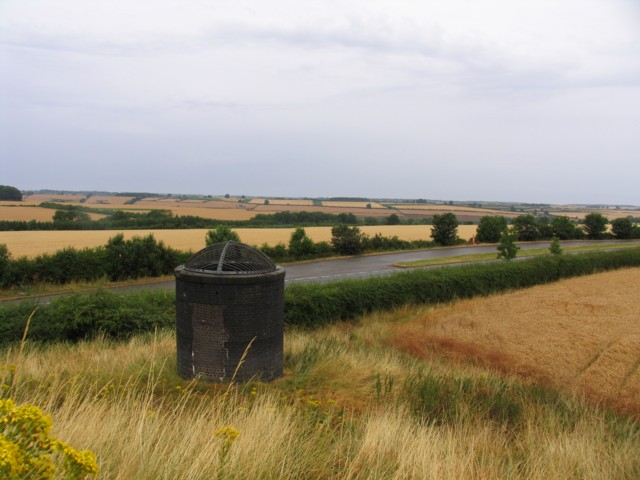 Glaston Tunnel ventilation shaft