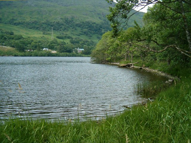 Loch Awe, Lochawe and St Conan's Kirk