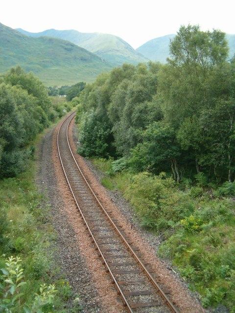 The railway to Oban