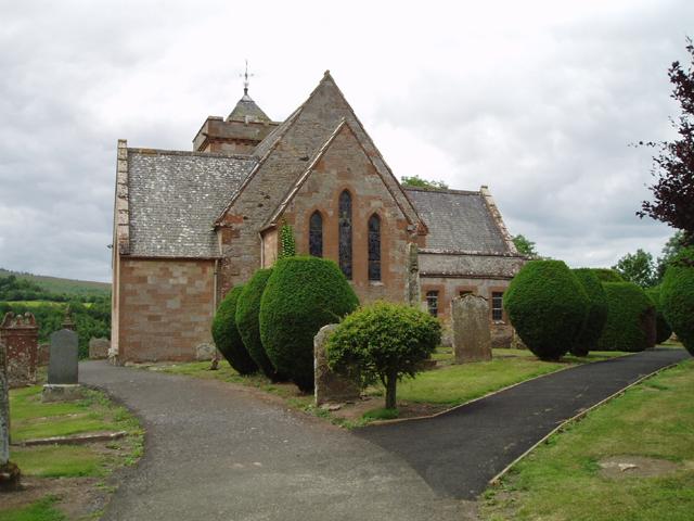 Ruberslaw Parish Church, Bedrule