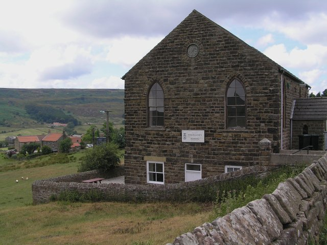 The Methodist Chapel near Hill Cottages