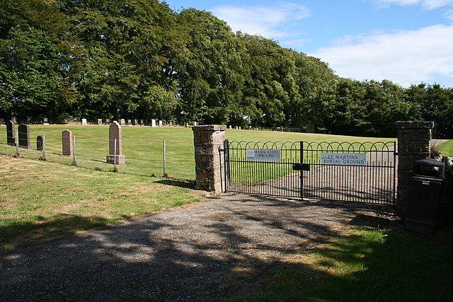 St Martins Burial Ground.