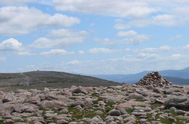 Twin tops of Beinn Bhreac