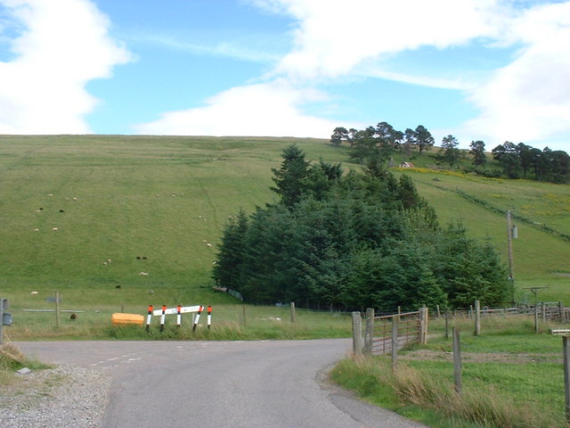 Junction on Dingwall to Heights of Achterneed road