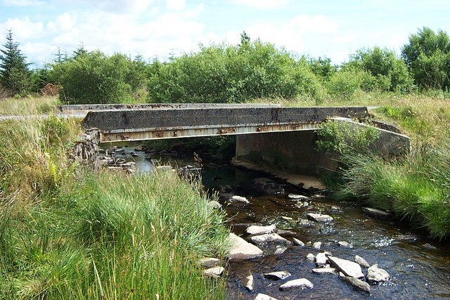 Roadbridge over Afon Ystumiau