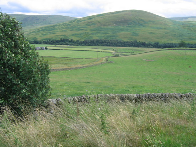 Farmland in the Yarrow Valley