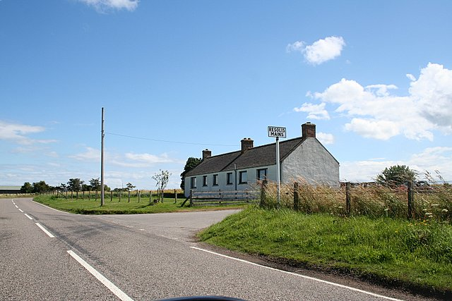 The Resolis Mains Junction on the A9163.