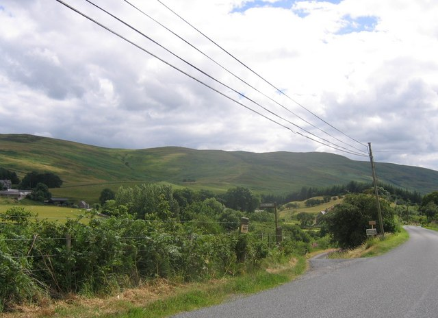 Ladhope Farm track