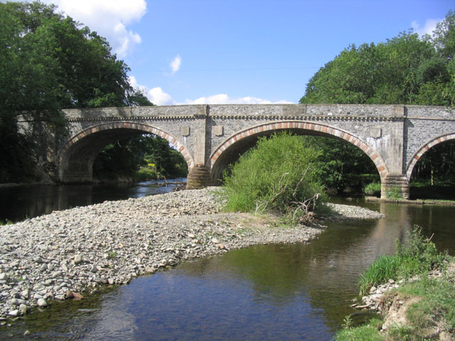 Ettrick Bridge spanning the Ettrick Water