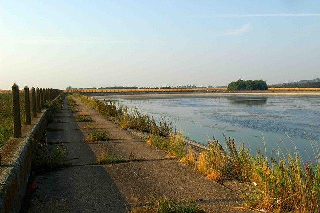 Abberton Reservoir (southern shore)