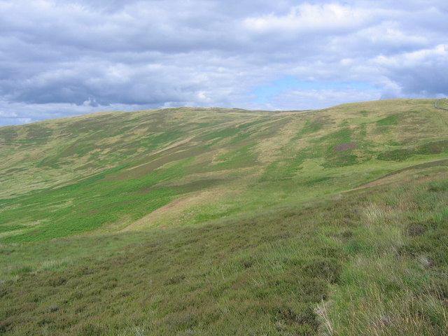 Side of Black Knowe Head