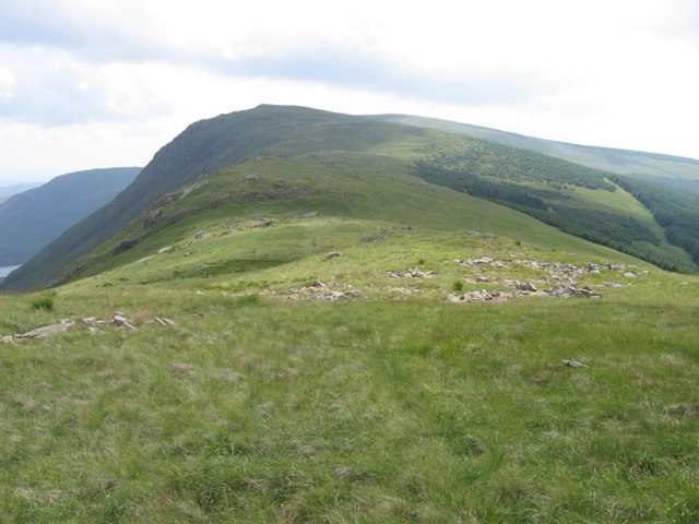 Rhinns of Kells ridge towards Millfire
