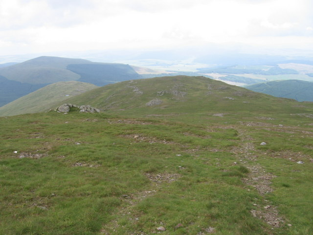 Polmaddy Gairy, NE ridge of Corserine