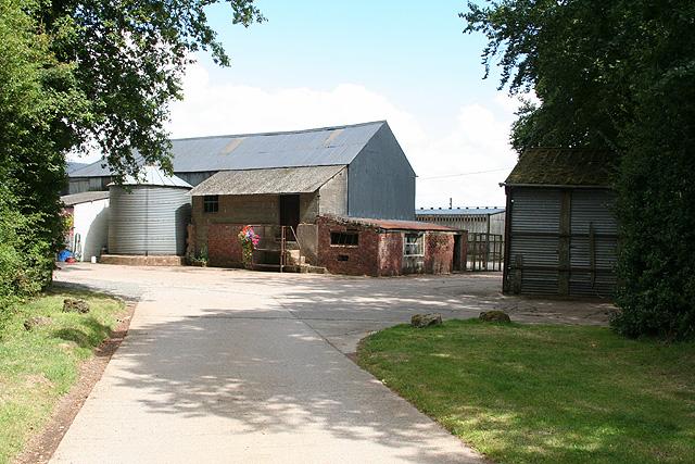 South Tawton: barns at South Nethercott